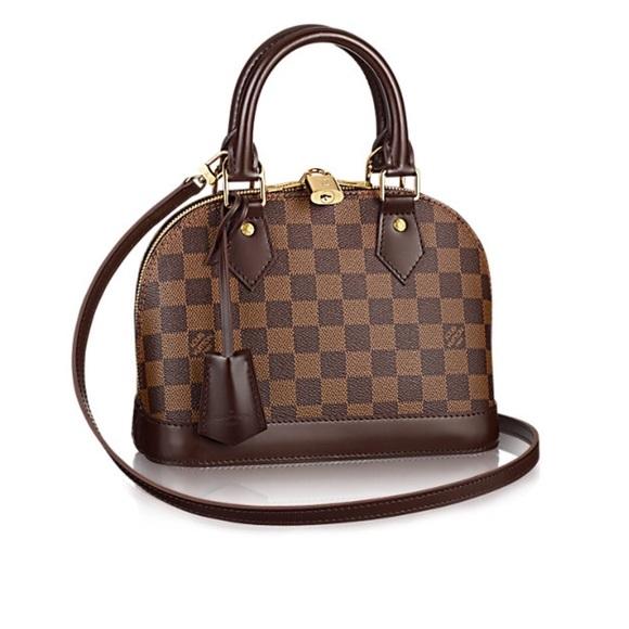 Louis Vuitton Handbags - LOUIS VUITTON  ALMA BB (N41221) (Damier Ebene) cdbe93e2c0d78
